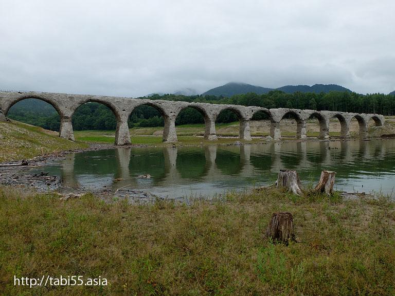 タウシュベツ橋梁(2014夏)