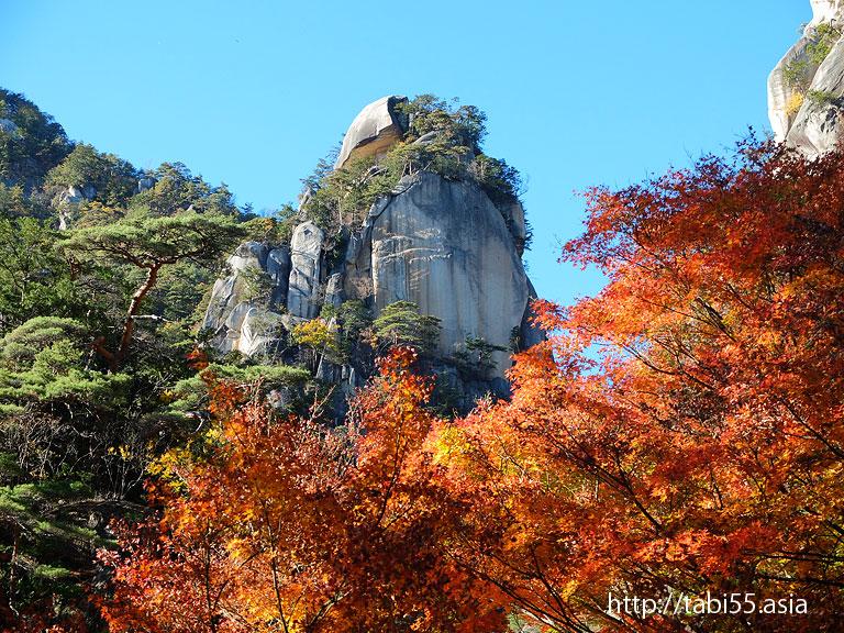 昇仙峡の象徴「覚円峰(かくえんぼう)」