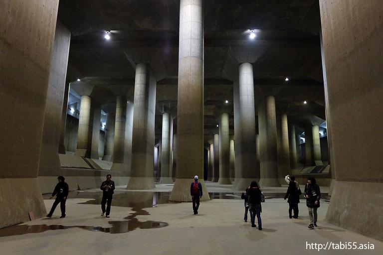 首都圏外郭放水路(埼玉県)/Tokyo metropolitan Outerarea Underground Tailrace(Saitama Prefecture)