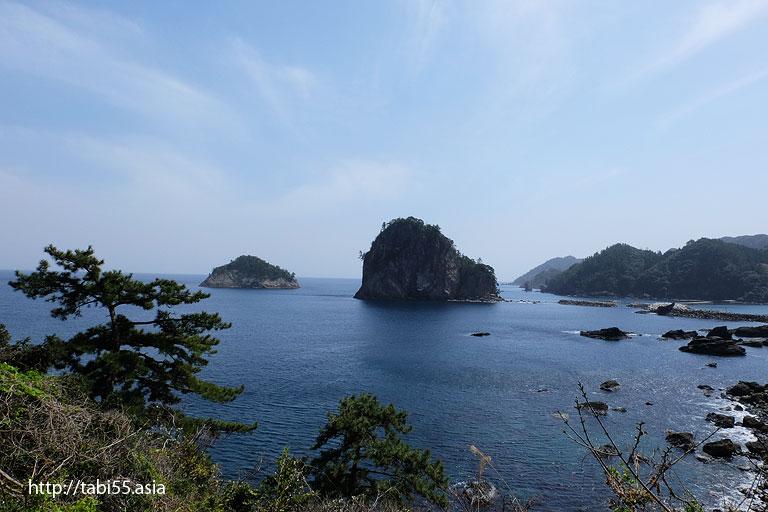 島と雲|隠岐の島町(島後)の風景