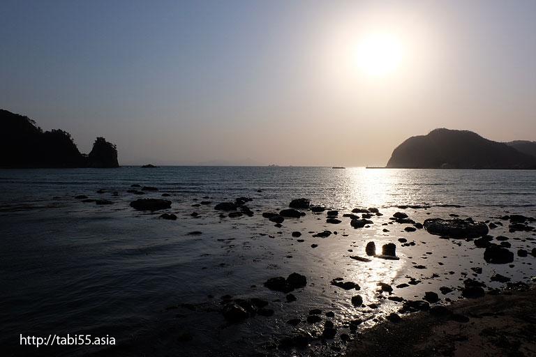 夕暮れ時|隠岐の島町(島後)の風景