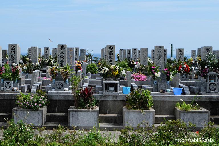 屋久島のお墓