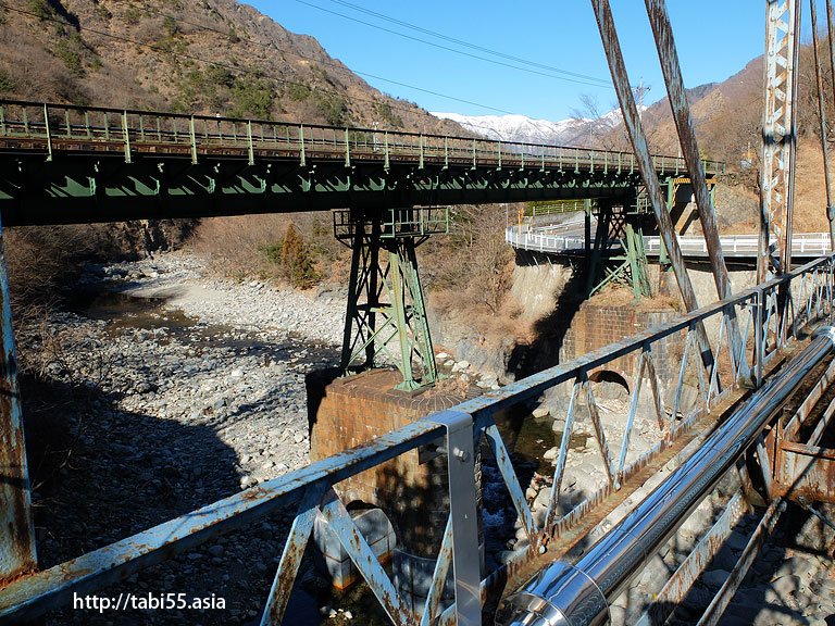 わたらせ渓谷鐵道の橋梁