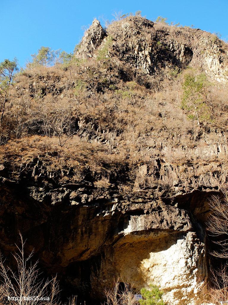 足尾銅山 小滝坑の火薬庫跡地