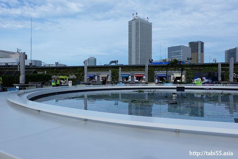 サンシャインシティ@西武百貨店池袋店の屋上庭園から撮影