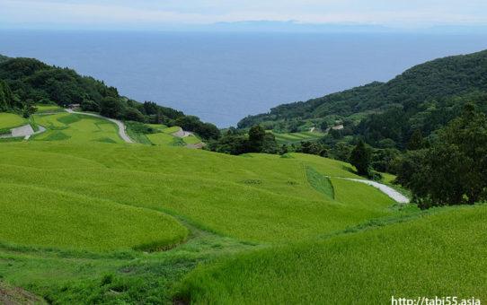 岩首の棚田(新潟県佐渡島)