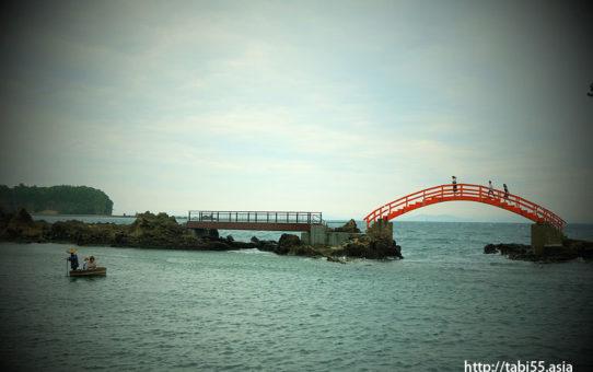 たらい舟(新潟県佐渡島)