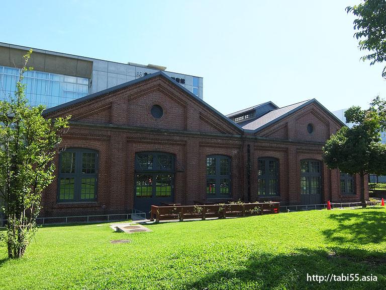 赤レンガ図書館@東京都北区 王子駅エリア