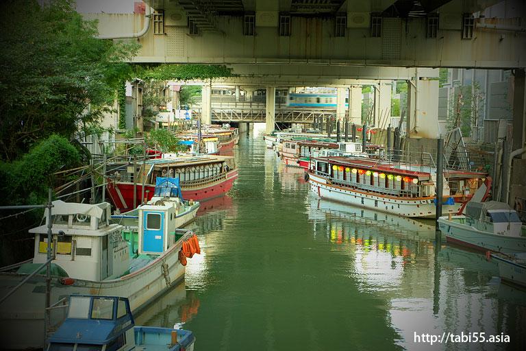 浜松町の屋台船(東京都港区)
