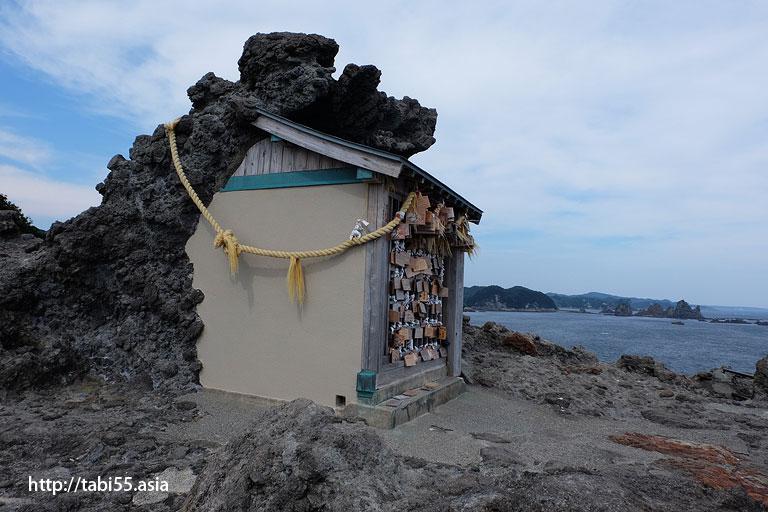 石室神社@石廊崎(静岡県)/Irozaki (Shizuoka Prefecture)