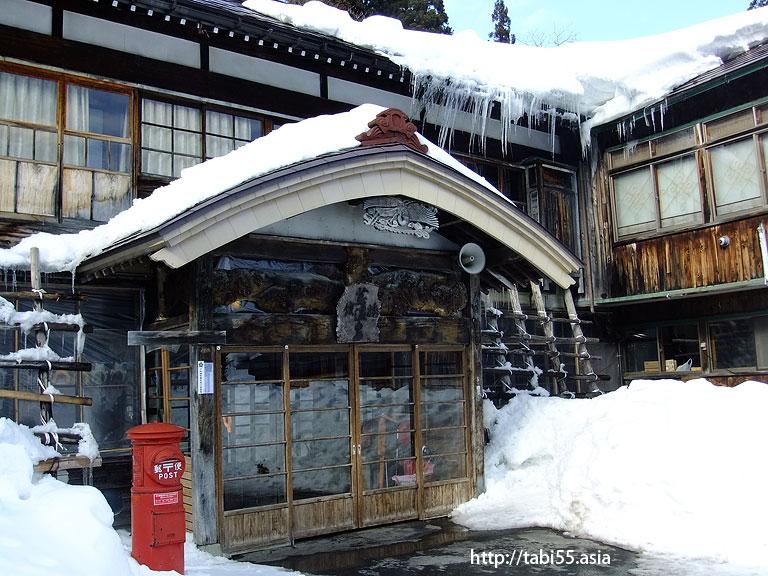 蔦温泉(青森県)/Tuta spa in winter(Aomori)