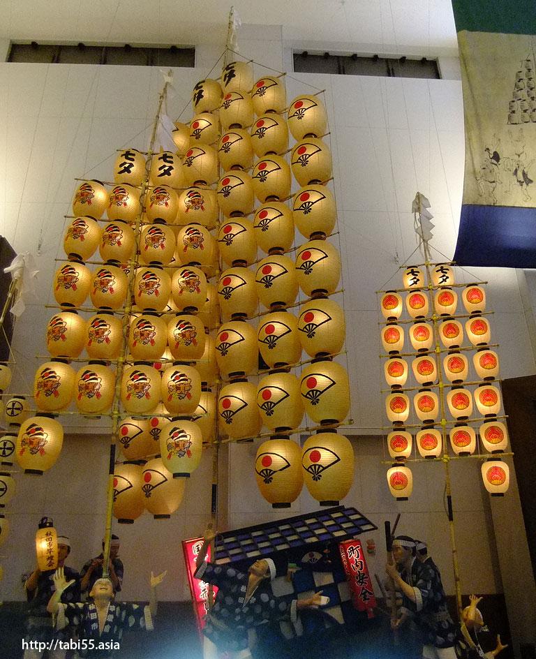 秋田市民俗芸能伝承館(愛称 ねぶり流し館)/Akita City folk lore Museum