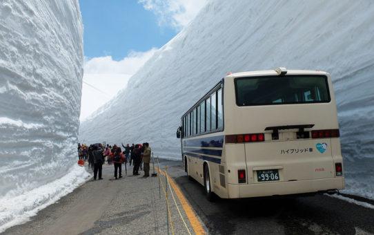 雪の大谷(立山黒部アルペンルート)