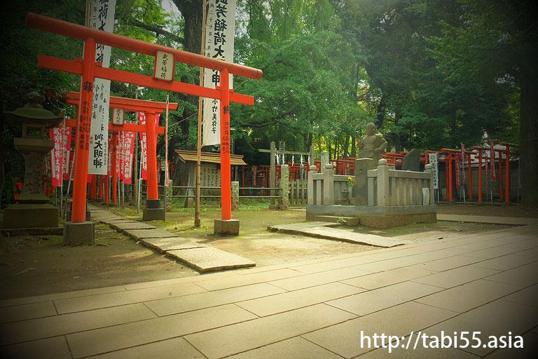 鬼子母神境内 武芳稲荷神社(東京都豊島区)