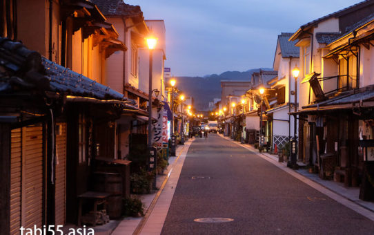 夕暮れの天領「豆田」を散策