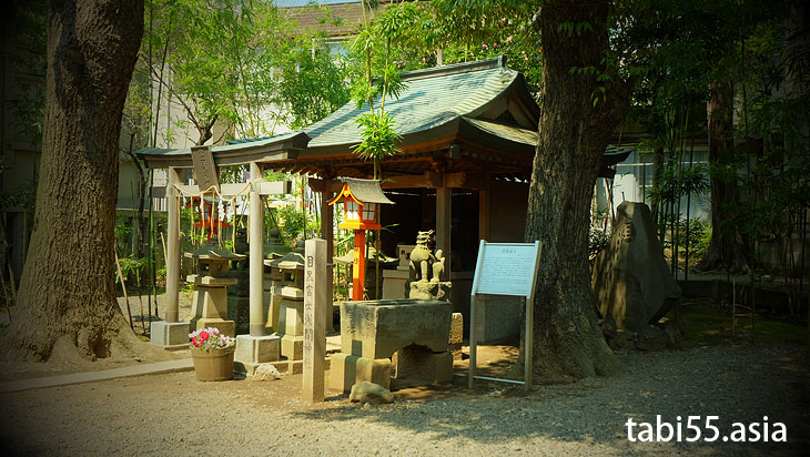 目黒富士(上目黒氷川神社)に桜の季節に登ってきました(東京都目黒区)