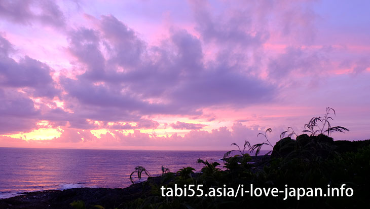 A sunset spot at Kikai Island! Araki Nakazato Promenade(Kikaijima)