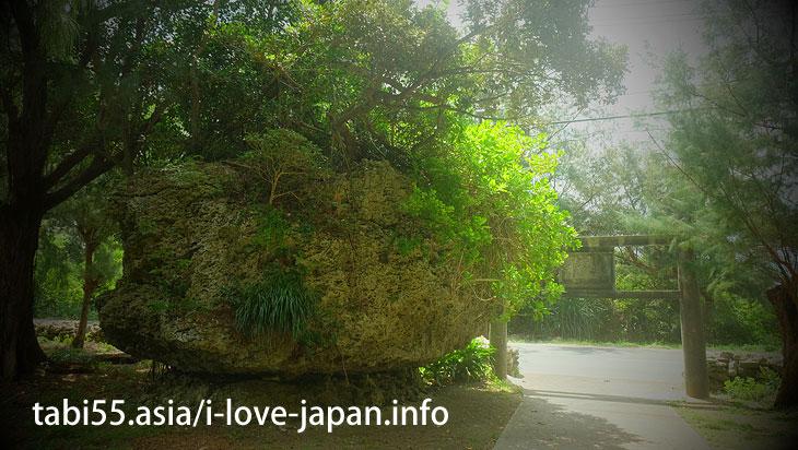 ガジュマルと据石に守られる南国の神社!末吉神社@喜界島の観光!行ってよかった【おすすめ】