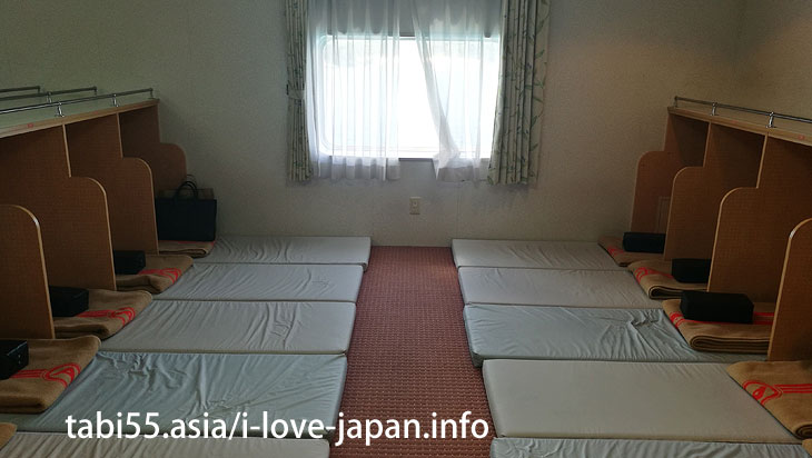 Second Cabin of MaruA Ferry@Travel by ferry on the Amami Islands (archipelago)【7 nights 8 days】 model course(Kagoshima)
