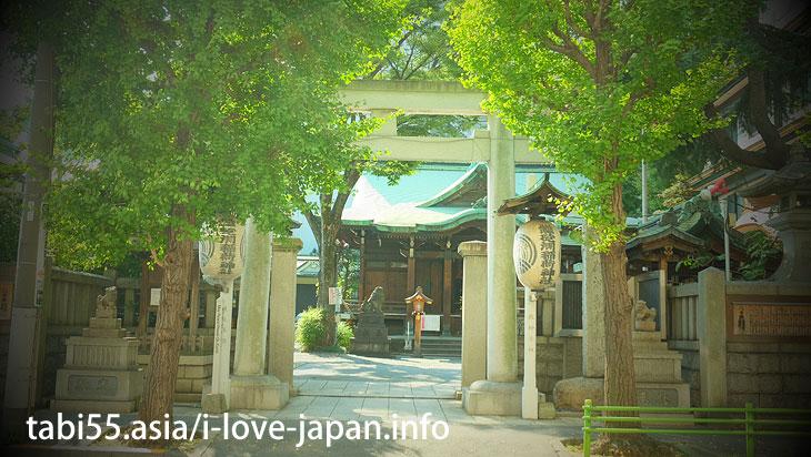 Teppou-zu Inari shrine