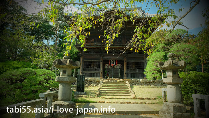 Built as a temple of the Korai people who moved to Japan