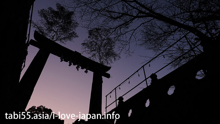 "The third torii is Hizen Torii! Rebuilt in 1617|Shinto shrine+huge camphor tree ""Ohkusu""(Takeo,Saga)"