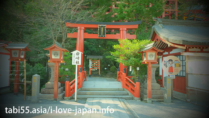 Do not miss Iwasaki Shrine and Okaguraden