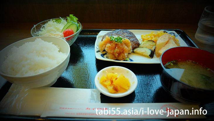 Saga beef hamburg@Takeo Onsen Spa area