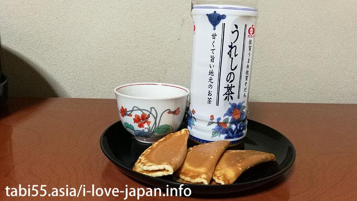 Received a prize in Taisho era! Senbei(Rice cracker) of Ebisudo@Takeo Onsen Spa area
