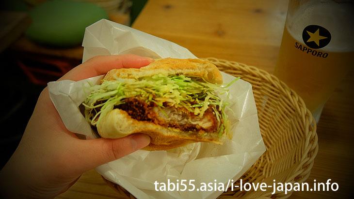 Let's eat Takeo burger at TKB AWARDS