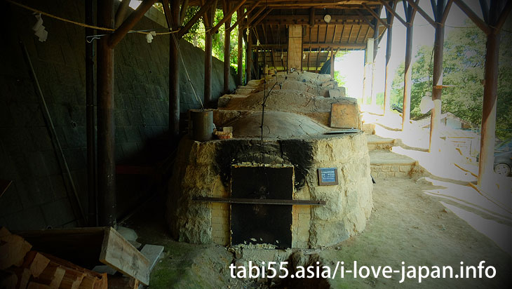 To the back of the secret kiln! Must see climbing kiln