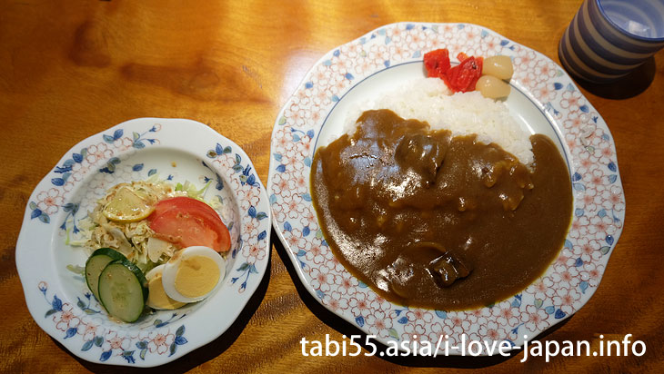 Lunch on Okawauchiyama ♪ Imari beef curry-rice
