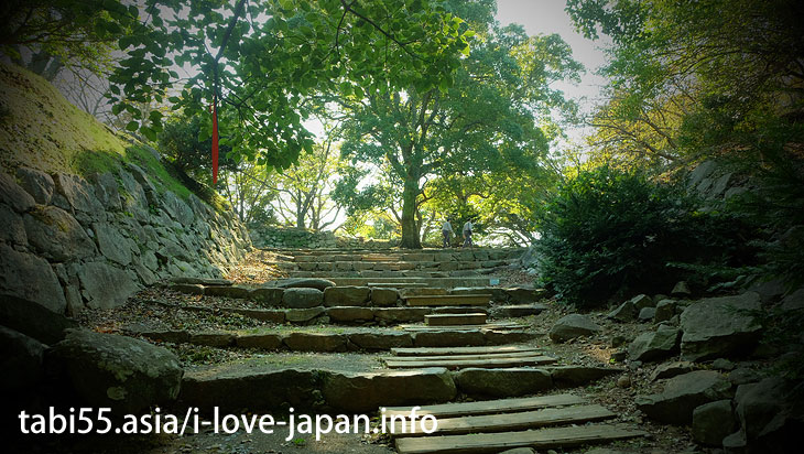 The trace of the dream of Toyotomi Hideyoshi