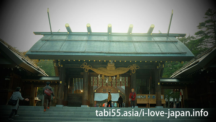 1. The guardian deity of the development of Hokkaido! A visit to Hokkaido Jingu