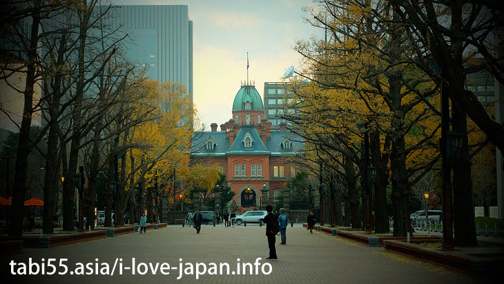 3. Red star is a landmark! Former Hokkaido Government Office (Red Brick Government building)
