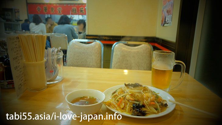 3. Otaru citizen's soul food! Otaru Ankake Yakisoba(Fried noodles)