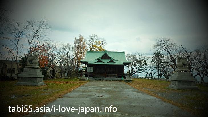 8. Otaru view from the hill! Suitengu Shrine