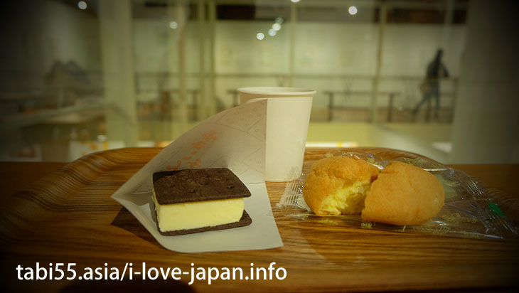 9. Rokkatei again! Get coffee with a puff! In addition,limited sweets