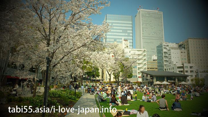 Minami Ikebukuro Park| Ikebukuro Station【East Exit】Sakura's sightseeing within walking distance